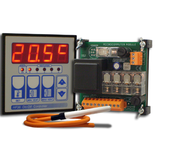 Pola HP36 - 4 stage ventilation control.