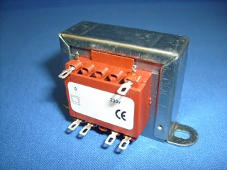 Transformer for low frequency fluorescent lighting.