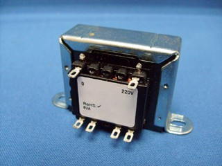 Transformer for exported 220vac low frequency fluorescent lighting.