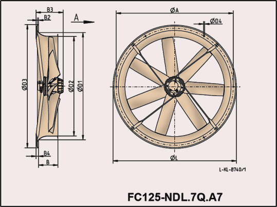 Plate Fan Sizes fc125_ndl7qa7