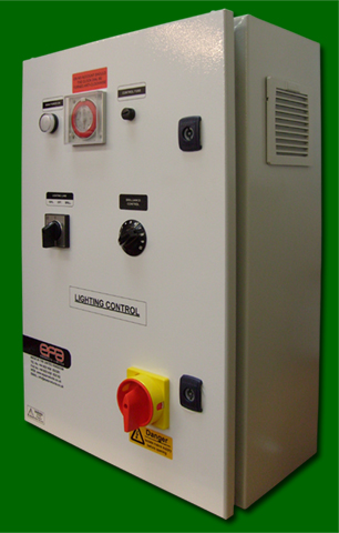 Single Lane Low Frequency Dimmer Panel