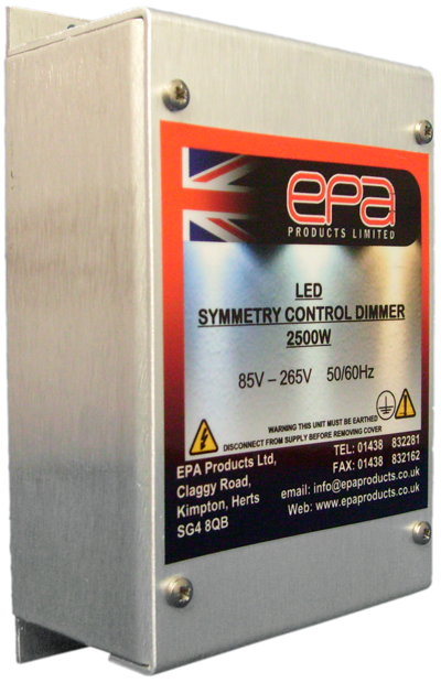 EPA LED Symmetry Dimmer Control