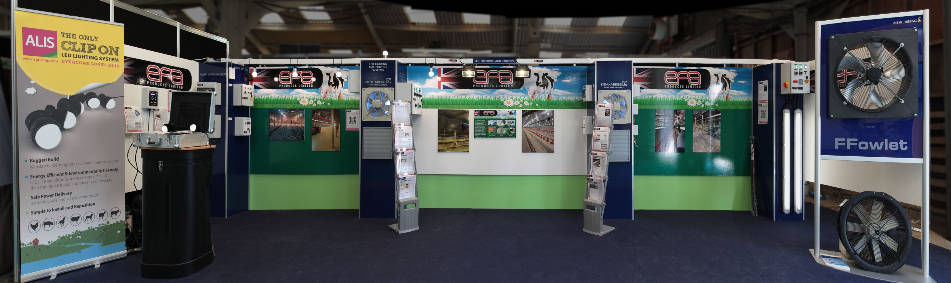EPA Pig and Poultry Fair Showstand 2014
